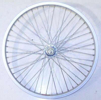 "ALEX 20/"" FRONT ALUMINUM BICYCLE RIM// BLUE HUB BIKE PARTS B75"
