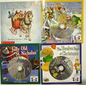 CHRISTMAS HOLIDAY SINGALONG BOOK & CD COLLECTION! Windsor Region Ontario image 3