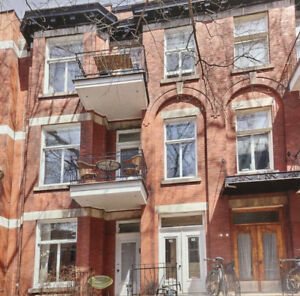 Magnificent 3 bedroom condo in prime Outremont location