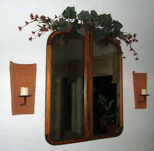 Antique Wooden Mirror - $80.00 OBO