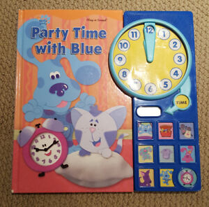Blue's Clues: Party Time with Blue (Interactive Sound Book)