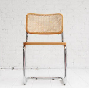 Modern Cane Side Chairs (Marcel Breuer's Cesca B32 style) $300/p