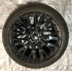 """OEM 22"""" Range Rover SVR wheels (Style 108) with Summer Tires"""