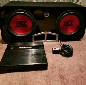 """10"""" Subwoofers with Amp"""