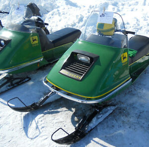 Wanted any John Deere snow machines