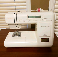 Janome Memorycraft sewing machine
