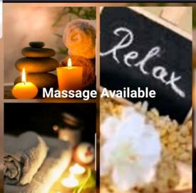 Hot oil relaxing massage