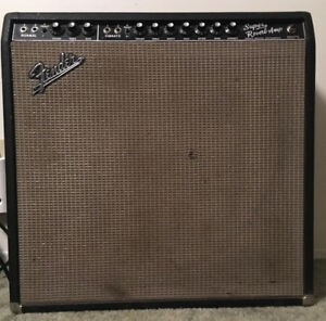 Vintage Fender Super Reverb Guitar Amplifier