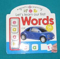 Let's Learn our First WORDS for JK/SK reader