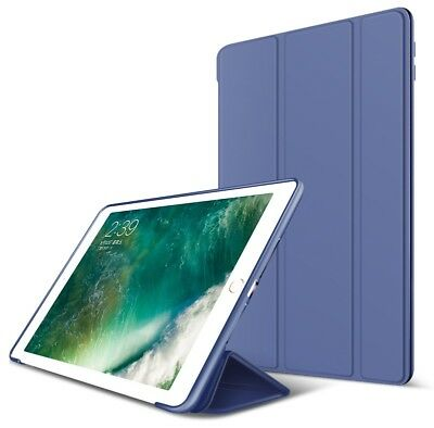 Luxury Smart Leather Navy Case Stand Cover For iPad 9.7 2017 5th Gen