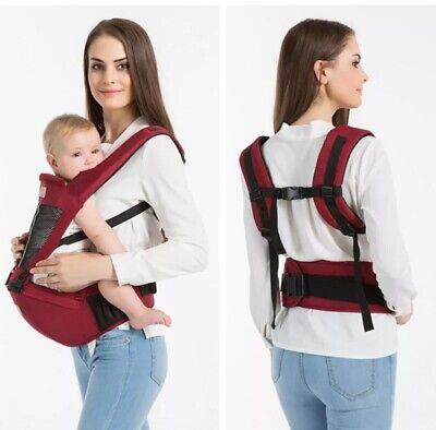 Newborn Toddler Baby Carrier Breathable Ergonomic Adjustable Wrap Sling Backpack