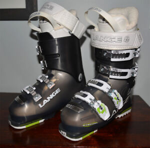LANGE LADIES SKI BOOTS RX 90 SIZE: 23.5:Barely Used Once