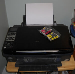 Epson Stylus CX8400 Copier, Printer and Scanner St. John's Newfoundland image 1