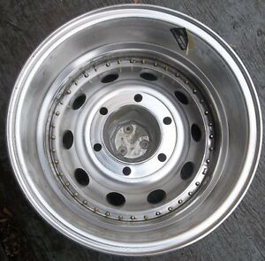 "1 - 15"" X 7"" ARE 440 ULTRALITE  WHEEL GM  4X4 6 BOLT $40. Belleville Belleville Area image 2"