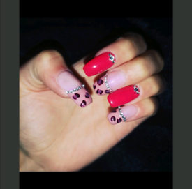 Nails any type, gel extension /mani and pedi.