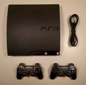 Console Sony Playstation 3 PS3 Slim 120GB deux manettes DS3