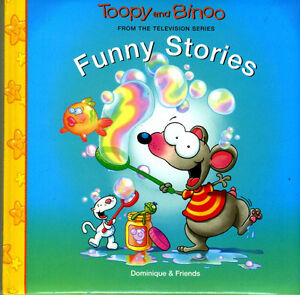 TOOPY AND BINOO - TOUPIE ET BINOU (ENGLISH OR FRENCH) BOOKS