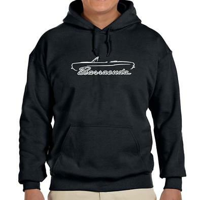 1967 Plymouth Barracuda Convertible (1967 1968 1969 Plymouth Barracuda Convertible Design Hoodie Sweatshirt FREE SHIP )