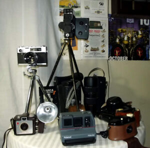 Assorted Cameras and Accessories