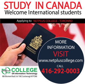 INTERNATIONAL STUDENTS WELCOME - Study in Canada!!!
