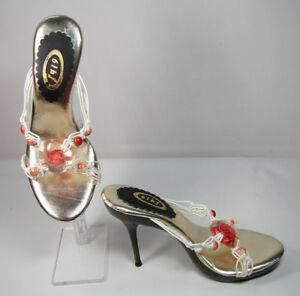 Well Cushioned High Heel Sandals Size 5