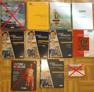 Livres, manuels de Sciences infirmières