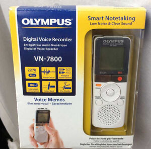 Digital Voice Recorder / Enregistreur vocal / Olympus VN-7800