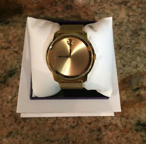 MOVADO GOLD MESH LINK WATCH FOR SALE!