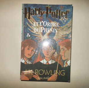 """2 books """"Harry Potter"""" (French)"""