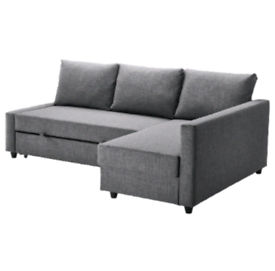 Ikea Grey Friheten Sofa Bed With Storage, RRP £479