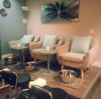 Space available for Nail Technicians inside a busy Salon &Spa