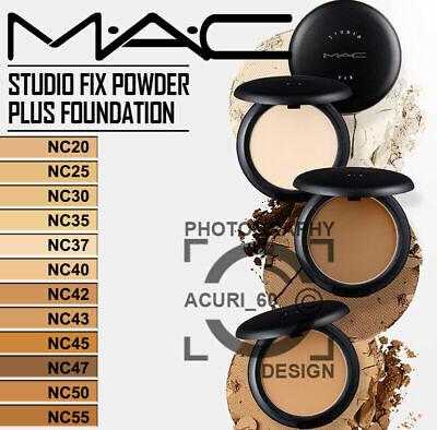 MAC STUDIO FIX POWDER PLUS FOUNDATION 15G /  REAL - NC 20