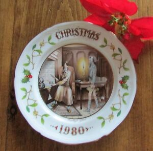 "1980 Aynsley Christmas Plate ""Marleys Ghost"" - A Christmas Carol Kitchener / Waterloo Kitchener Area image 4"