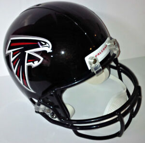 ATLANTA FALCONS FULL SIZE RIDDELL CFL REPLICA FOOTBALL HELMET