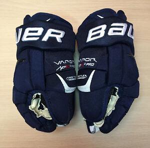 """Gant de Hockey Bauer Vapor APX 2 Pro 13"""" 33cm Bleu et Blanc"""