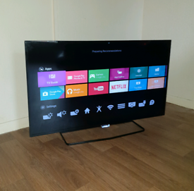 """Philips 40"""" Smart 4k UHD HDR+10 Android tv"""