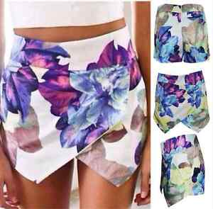 **BRAND NEW** Asymmetric Floral Print Skort (Skirt Short Combo) Kitchener / Waterloo Kitchener Area image 2