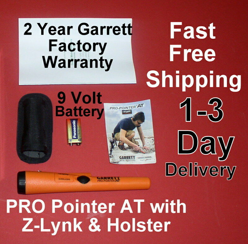 Garrett PRO Pointer AT Metal Detector With Z-Lynk1-3 Day Delivery Free Shipping - $124.00
