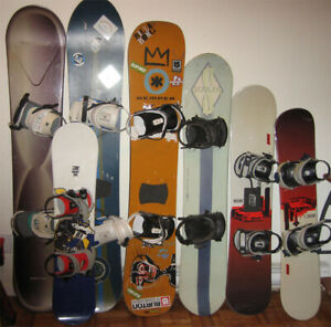 Used snowboard, skis, snow blades,  and boots for sale and trade