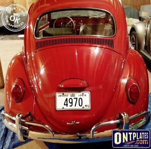YOM Licence Plates For Your Old Auto - Ministry Guaranteed! Peterborough Peterborough Area image 9