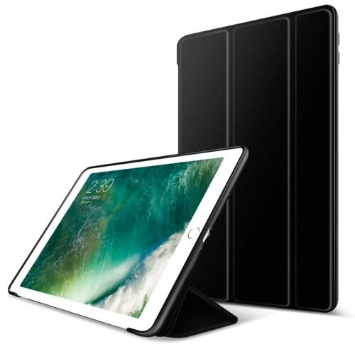 """Shockproof Hybrid Silicone Smart Flip Case Cover For iPad 9.7"""" 2018 6th/2017 5th"""