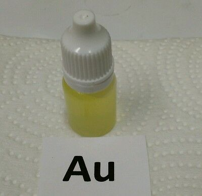 Stannous Chloride Testing Solution Made With 24k Gold. Check Your Stannous