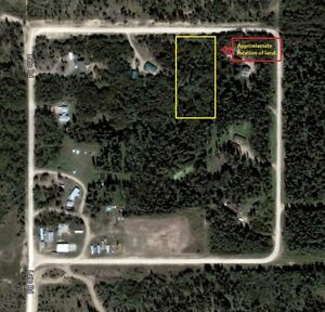 Acreage land in RM of Buckland