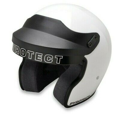 Pyrotect Helmet-Pro Airflow Open Face-White XSmall-SA2010