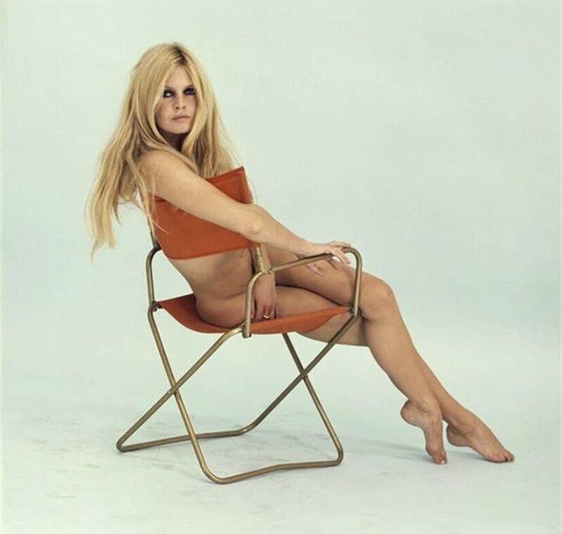 Brigitte Bardot - Sitting Naked !!!