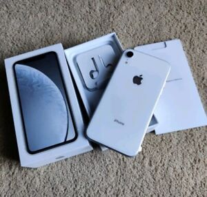 Mint White iPhone XR, 64Gb-unlocked ~1yr warranty, BH-100%