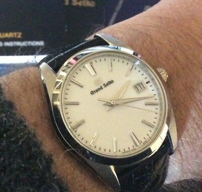 Grand Seiko quartz -- 2017 model SBGX259, includes two bands