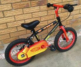 "Apollo Force Bike, 14"" wheels (optional stabilisers)"