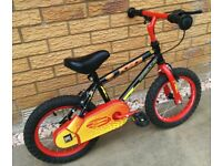 "Apollo Force Bike, 14"" wheels (optional stabilisers)"