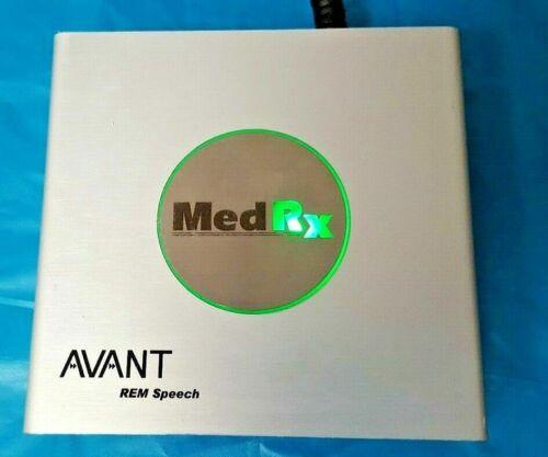 MedRx AVANT REM SPEECH PC BASED SPEECH TEST Real Ear Measurement USB
